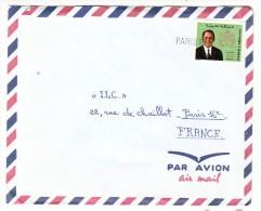 Marcophilie - Maroc - Lettre Par Avion, Cachet De Paris 18 - 1975 - Marokko (1956-...)