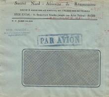 """Algerie Algeria 1950 Alger RP Meter Franking Havas """"C"""" 3483 EMA Cover - Brieven En Documenten"""