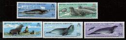 Antarctique Britann.** N° 118 à 123 Sauf 120 - Protection Des Phoques - Brits Antarctisch Territorium  (BAT)