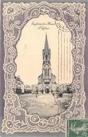 VAL D'OISE 95  ENGHIEN LES BAINS   EGLISE  FANTAISIE  GAUFREE - Enghien Les Bains