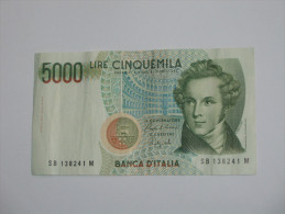 5000 LIRE - Cinquemila - ITALIE  - Banca D´Italia 1985. **** EN ACHAT IMMEDIAT **** - 5000 Lire
