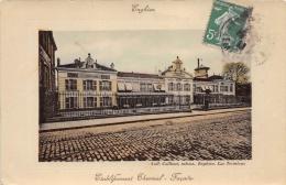 VAL D'OISE 95  ENGHIEN LES BAINS   ETABLISSEMENT THERMAL FACADE - Enghien Les Bains