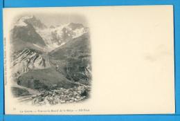 CP, 05, LA GRAVE, Vue Sur Le Massif Et La Meije, Dos Simple, Vierge - France