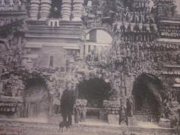 1910 CPA De HAUTERIVES (Drôme) Rhône >palais Idéal Du Facteur Cheval Façade Nord - Andere Gemeenten