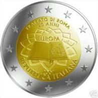 ITALIA 2 Euro 2007 50° ANNIVERSARIO DEI TRATTATI DI ROMA FDC - Italie