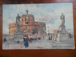 Rome. Castel Sant' Angelo - Paintings