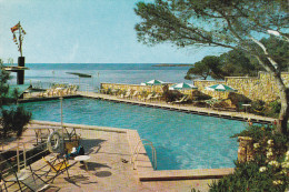 GRAN HOTEL ALBATROS  -  ILETAS  - MALLORCA.  Vista De La Piscina. - Mallorca