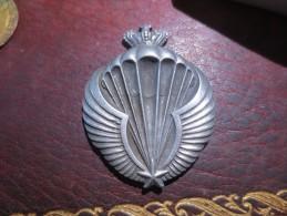 MAROC MEDAILLE BREVET PARACHUTISTE R. P. PARIS- VOIR PHOTOS - Médailles & Décorations