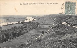 VAL D'OISE 95  LA ROCHE GUYON  VUE SUR LA SEINE - La Roche Guyon