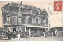 HOTEL DE LA GARE - Carte Non Située - Ohne Zuordnung