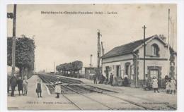 10-MAIZIERES LA GRANDE PAROISSE ** LA GARE** RECTO/ VERSO--E49 - France