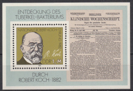 DDR - Vierlandenkataloog - 1982 - BL 67 - MNH** - Blocks & Kleinbögen