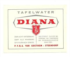 Etiket     Van Goethem - Beer