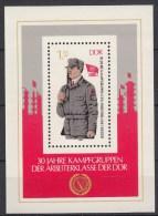 DDR - Vierlandenkataloog - 1983 - BL 72 - MNH** - Blocks & Kleinbögen