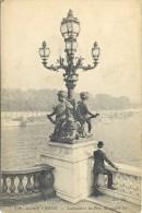 CPA PARIS - LAMPADAIRE DU PONT ALEXANDRE III - ART DECORATIF - Ponts