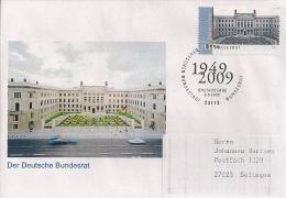 2009 Deutschland Yv  2582-3  Mi  2757-8 FDC Blockmarken Deutscher Bundestag Und Bundesrat - [7] Repubblica Federale