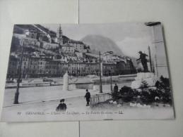 Grenoble L'Isere Les Quais La Vedette Gauloise 1911 - Grenoble