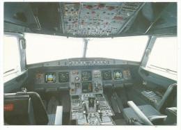 Avion Intérieur De Cokpit Airbus A 320 - Gros Plan Détails - CPM Non Voyagée éditeur Non Mentionné - 1946-....: Moderne