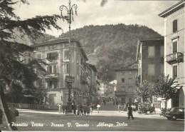 PORRETTA TERME -PIAZZA V.VENETO -ALBERGO ITALIA - Bologna