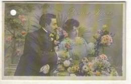 Carte De Fleuriste - Couple - Neujahr