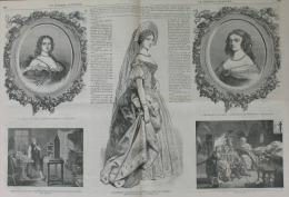 N°123 JOURNAL ILLUSTRE 1866:BEZIERS/COMICES AGRICOLES/FABRIQUE HARMONIUMS ROUSSEAU/NINON DE LENCLOS/J.WATT - Journaux - Quotidiens