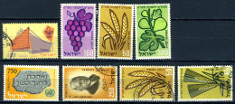 1958/59 - ISRAELE - ISRAEL - Catg. Mi. 165/182 - Used/MLH/NH  (S02032014...) - Collections, Lots & Séries