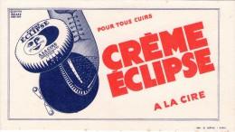 BUVARD - Crème Eclipse - Illustration Roland Ansiau - Blotters
