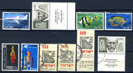1961/1962 - ISRAELE - ISRAEL - Catg. Mi. 256/269 - Used/MLH/NH  (S02032014...) - Collections, Lots & Séries