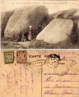 PLOUMANAC' H - Habitations Des Pecheurs Dans Les Rochers - CPA Taxée   (64937) - Ploumanac'h