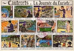 65 - CAUTERETS - LA JOURNEE DU CURISTE - Cauterets
