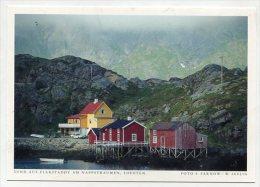 NORWAY - AK 190943 Lofoten - Sund Auf Flakstadoy Am Nappstraumen - Norvegia