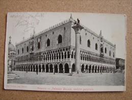 Ve1083)  Venezia - Palazzo Ducale, Veduta Generale - Venezia