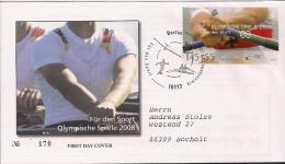 2008  Deutschland Yv  2477  Mi  2652  FDC  Olympische Sommerspiele; Peking - [7] Repubblica Federale