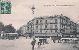 MONTPELLIER (34) PLACE DE L´EMBARCADERE - Montpellier