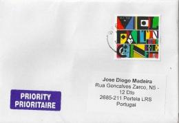 Austria Cover To Portugal - 2011-... Briefe U. Dokumente