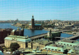 STOCKHOLM View Of The Town Hall From Storkyrkan - Schweden