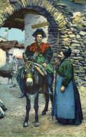 CPA Folklore Costume Coiffe  La Savoie Pittoresque Vallée De Bessans - Costumes