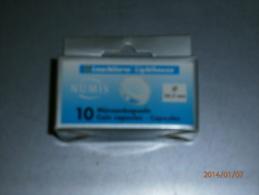 BOITE DE 10 CAPSULES DIAMETRE 24.5 Mm LEUCHTTURM, PRIX PUBLIC: 2,90. - Matériel