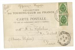 Oblitération Russie Empire à Voir Touring Club De France - 1857-1916 Empire