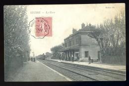 Cpa Du 21  Seurre La Gare         ........  Beaune  LEG1 - Beaune