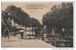 LANEUVILLE Devant NANCY ( 54 ) L´Ecluse De La Marne Au Rhin - Other Municipalities