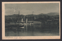 CROATIA - Kraljevica, Porto Re, Year 1921 - Steamer, Dampfer - Kroatien
