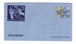 "VATICAN 1977 Aerogramme ""Pax Vobiscum"" Mint - Postal Stationeries"