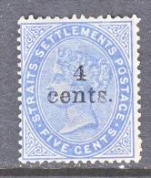 STRAITS  SETTLEMENTS  89     * - Straits Settlements