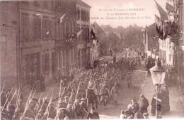FORBACH 57 - Entrée Des Français Le 22 Novembre 1918 - Défilé Des Troupes Dans Les Rues De La Ville - 7.3.1919 - K-3 - Forbach