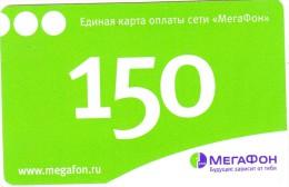 RUSSIA - Megafon Prepaid Card 150 Rubl, Exp.date 09/05/08, Used - Russia