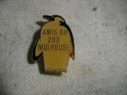 Pin´s Des Amis Du ZOO De MULHOUSE: Pingouin - Animaux
