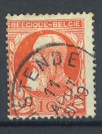 VEND BEAU TIMBRE DE BELGIQUE N° 74 , PETOUILLE AU DESSUS DE LA TETE !!!! - Errors And Oddities