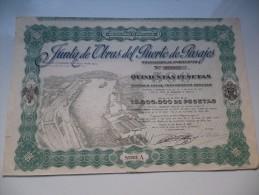PORT DE PASAJES (1947) ESPAGNE - Acciones & Títulos