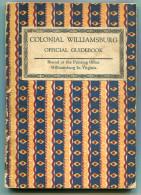 Virginia Colonial Williamsburg Official Guidebook 1965 - Livres, BD, Revues